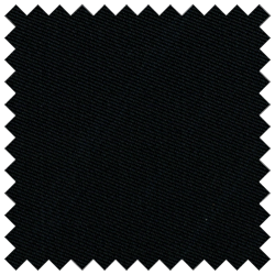 Black Wool Serge 14-14.50 oz