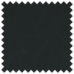 Black Poly Cotton 6 oz