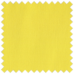Bright Yellow Poly Cotton