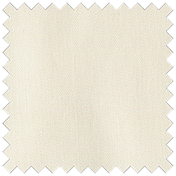 Ivory Poly Cotton